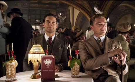 The Great Gatsby Gets Some New Stills: Jay, Nick & Daisy All Dressed Up