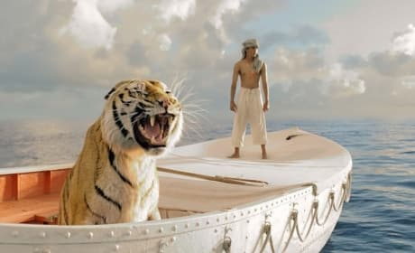 Life of Pi Clip Drops: I am on a Boat Alone with a Tiger