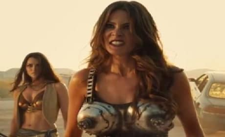 Machete Kills Clip: Danny Trejo and Sofia Vergara's Car War