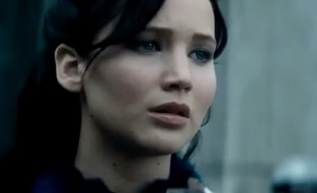 Katniss is Jennifer Lawrence in Catching Fire
