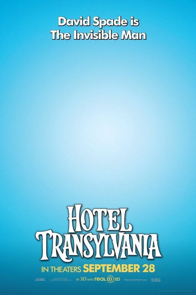 Hotel Transylvania Invisible Man Poster