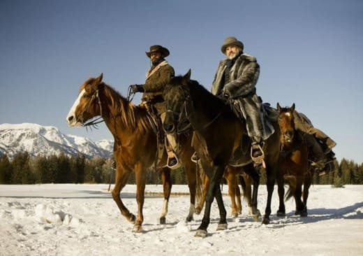 Django Unchained Photo: Jamie Foxx and Christoph Waltz