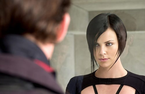 Charlize Theron in Aeon Flux
