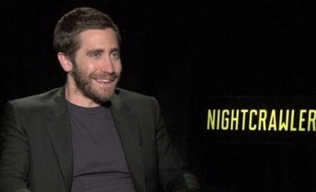 "Nightcrawler Exclusive: Jake Gyllenhaal on Past & Future ""Colliding"""