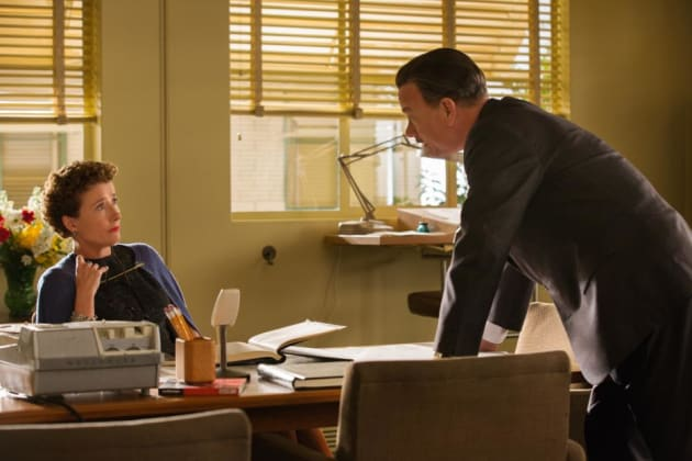 Emma Thompson Tom Hanks Saving Mr. Banks