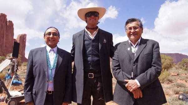 Armie Hammer Meets Navajo Nation