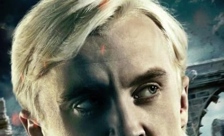 Harry Potter and the Deathly Hallows Part 2 Poster - Draco Malfoy