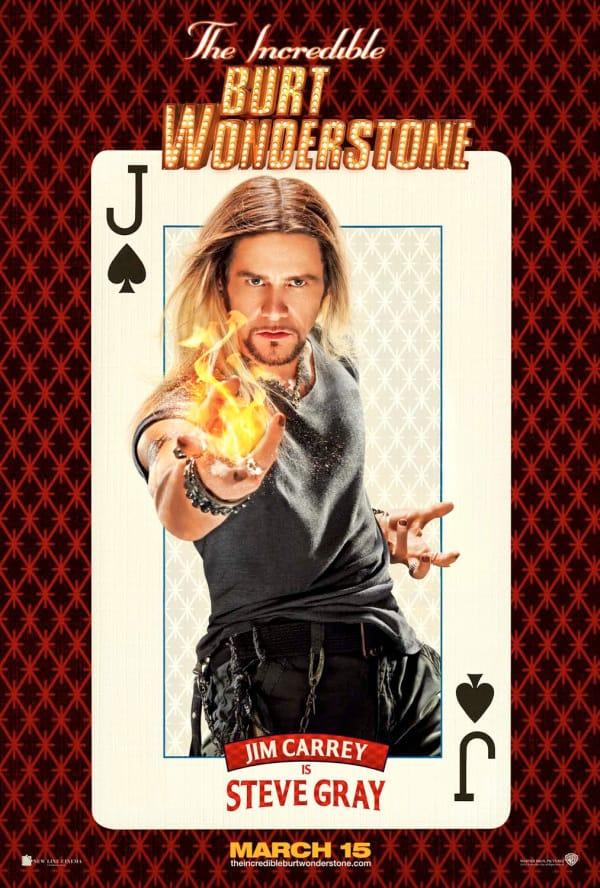 Jim Carrey The Incredible Burt Wonderstone Poster
