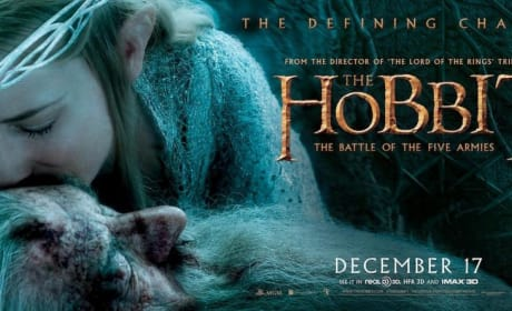 The Hobbit The Battle of the Five Armies Cate Blanchett Banner