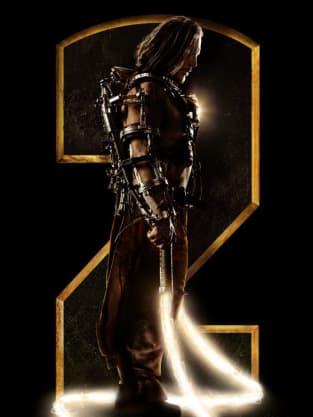 Iron Man 2 Whiplash Side Poster