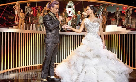 Catching Fire Stanley Tucci Jennifer Lawrence