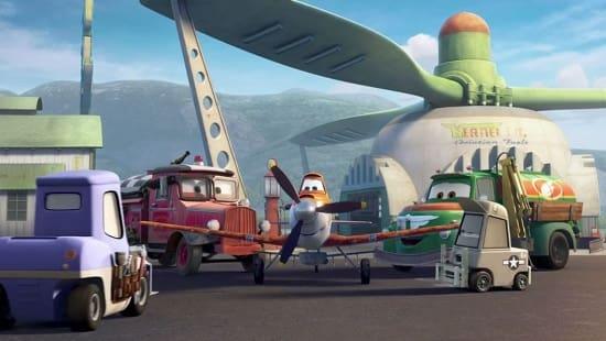 Planes Cast Photo