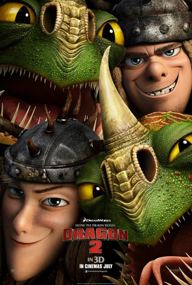 How to Train Your Dragon 2 Ruffnut & Tuffnut Poster