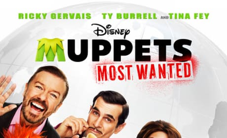 Muppets Most Wanted Poster: Gang is All Here!