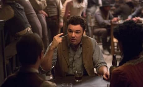Seth MacFarlane in A Million Ways to Die in the West