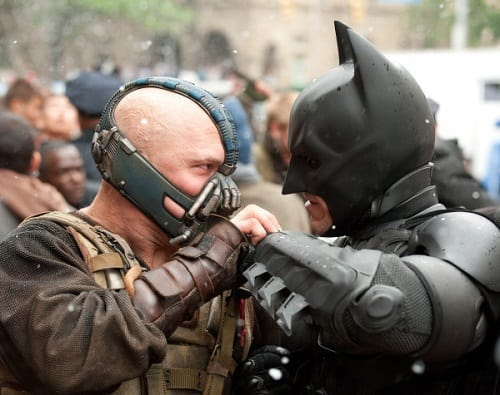 Bane and Batman