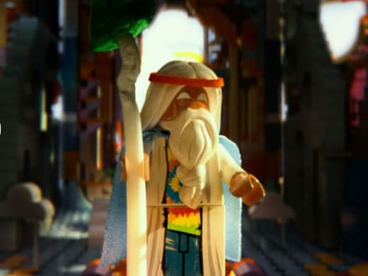 The LEGO Movie Morgan Freeman