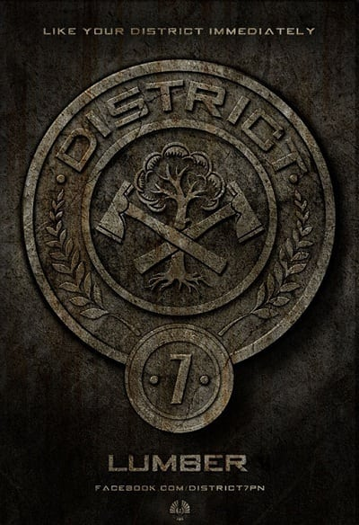 The Hunger Games Badges: Lumber