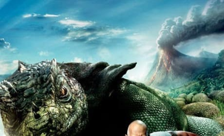 Dwayne Johnson Journey 2: The Mysterious Island Character Banner