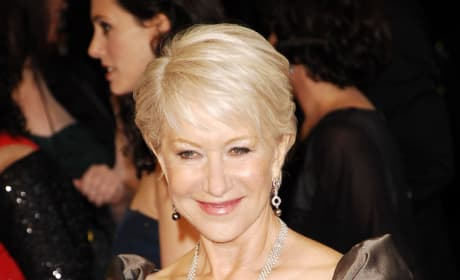 British Actress Helen Mirren