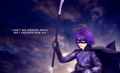 Kick-Ass Hit Girl Poster