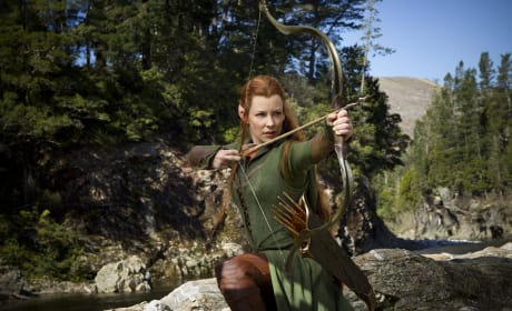 The Hobbit Desolation of Smaug Evangeline Lilly