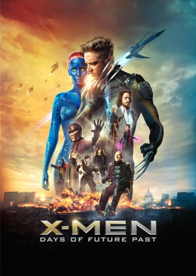 X-Men Days of Future Past Cast Poster