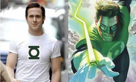 Ryan Gosling Rumored for The Green Lantern