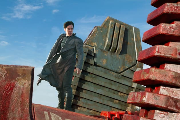 Star Trek Into Darkness Benedict Cumberbatch Image