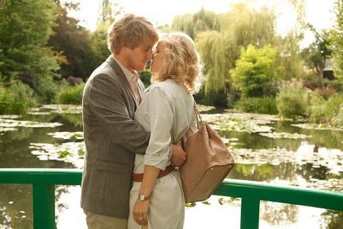 Owen Wilson and Rachel McAdams in Midnight in Paris
