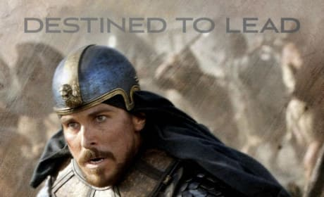 Exodus Gods and Kings Christian Bale Character Poster