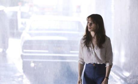 Abigail Smoking in the Rain