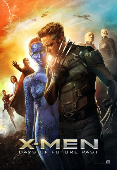 X-Men Days of Future Past Mystique Wolverine Poster