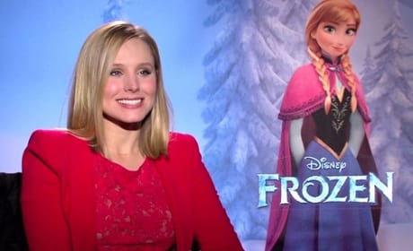 Kristen Bell Frozen Photo