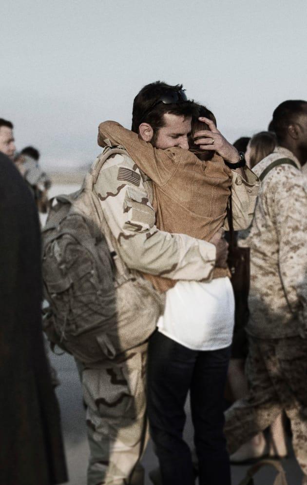 Bradley Cooper Sienna Miller American Sniper