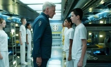 Ender's Game Harrison Ford Asa Butterfield