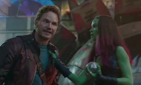 Chris Pratt Zoe Saldana Guardians of the Galaxy