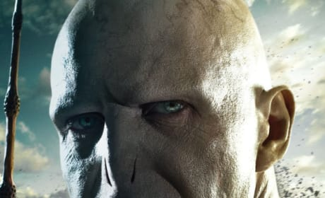 Lord Voldemort's Deathly Hallows Part 2 Poster Revealed