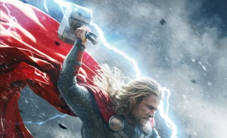 Thor The Dark World Character Posters: Laying the Hammer Down!