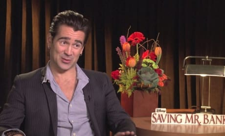 Colin Farrell Saving Mr. Banks Photo