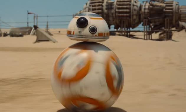 Star Wars The Force Awakens Robot