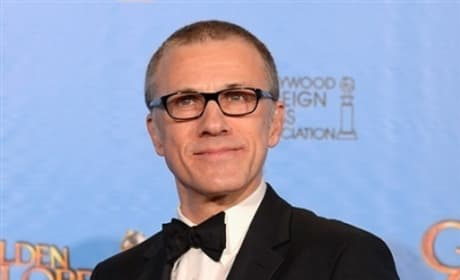 Christoph Waltz Golden Globes