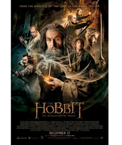The Hobbit: The Desolation of Smaug Prize Poster