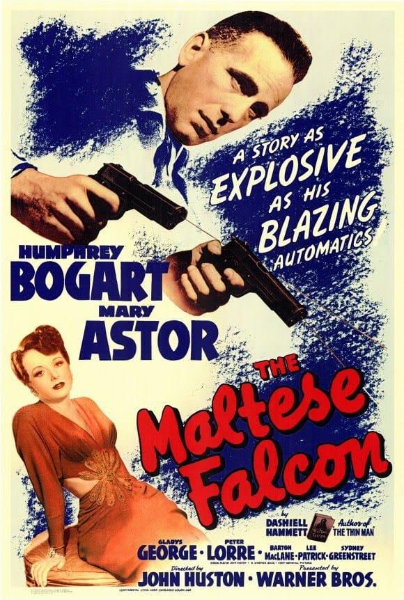 The Maltese Falcon Poster