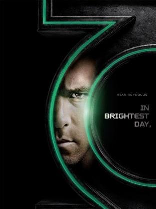 Green Lantern Ryan Reynolds Poster