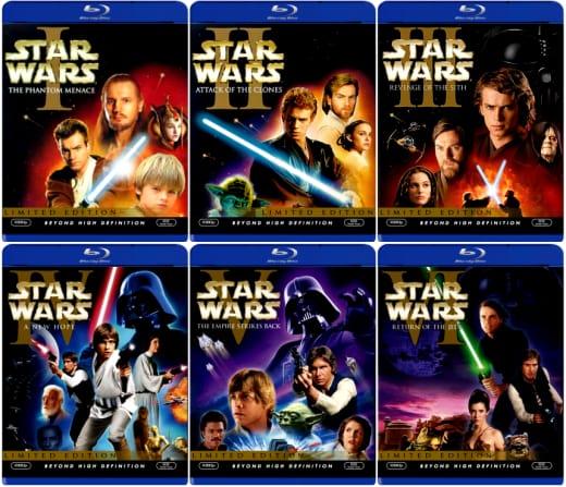 Star Wars Blu