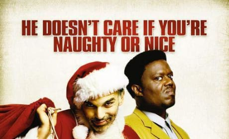 Bad Santa Movie Poster