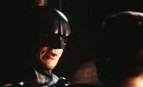 Watch Christian Bale Audition for Batman: Wearing the Val Kilmer Batsuit!