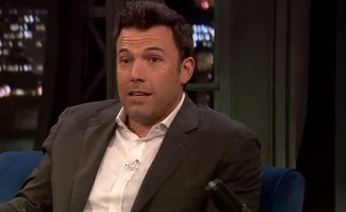 Ben Affleck on Late Night with Jimmy Fallon