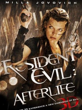 Resident Evil: Afterlife Teaser Poster